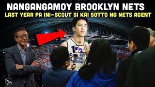 Matagal tagal ng ini-scout si KAI SOTTO ng Brooklyn Nets