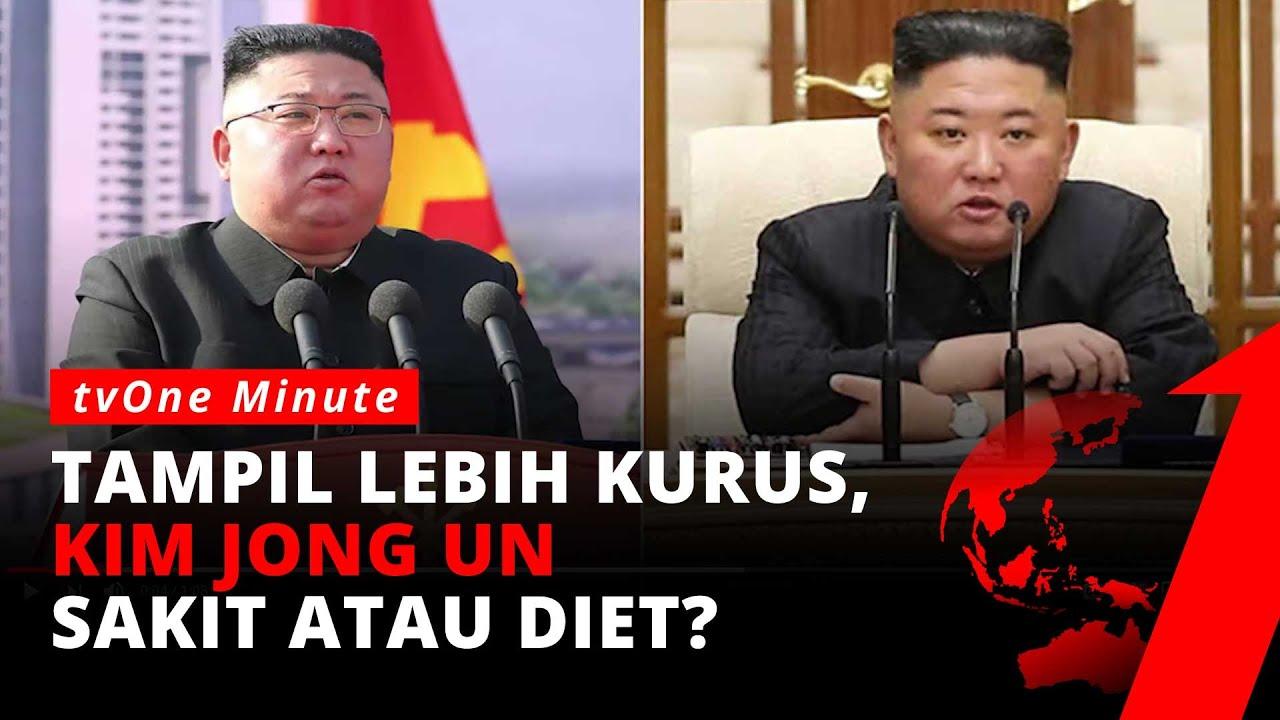Kim Jong Un Terlihat Lebih Kurus, Kondisi Kesehatan Dipertanyakan   tvOne Minute
