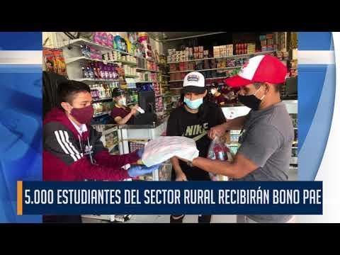 Atención estudiantes y padres de familia de la zona rural de Ibagué, empezó el pago del último bono
