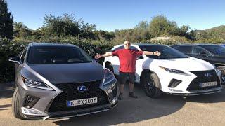 Lexus RX 2020 450h/hL test PL Pertyn Ględzi
