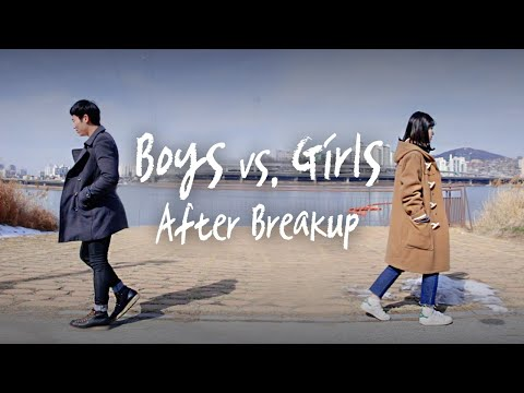 BOYS vs. GIRLS After The Breakup  • ENG SUB • dingo kbeauty