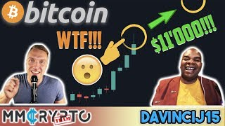 WOW!! BITCOIN PUMPING RIGHT NOW!!! Is $11'000 IMMINENT Or DUMP back Down for BTC!!? DavinciJ15