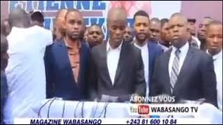 13/4/19 ÇA CHAUFFE À LIMETTE LA LIGUE DES JEUNES DE L'UDPS DEMANDE FIN DE NÉGOCIATIONS CACH-FCC.