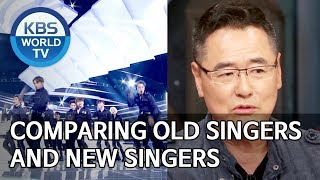 Comparing old singers and new singers [Happy Together/2019.12.05]