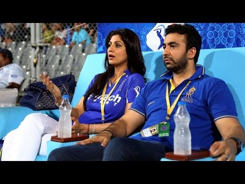 Shilpa Shetty & Raj Kundra Get ANGRY When Asked About Rajasthan Royals IPL Banning thumbnail