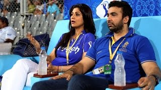 Shilpa Shetty & Raj Kundra Get ANGRY When Asked About Rajasthan Royals IPL Banning