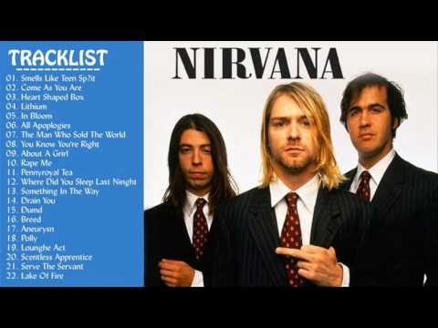 Nirvana Greatest Hits 2017 | Best Of Nirvana Top Tracks {New Cover}