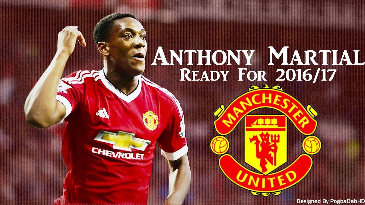 Anthony Martial Ready For Season 2016-2017 Skills & Goals