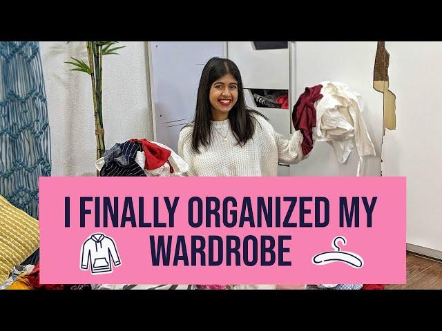 I FINALLY Organise My Wardrobe   Sejal Kumar