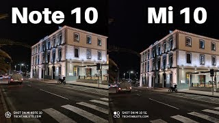 Xiaomi Mi 10 vs Mi Note 10 Camera Comparison