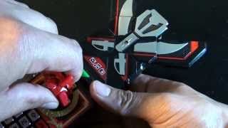 R298 Bandai Power Rangers Super Megaforce Deluxe Legendary Morpher Review