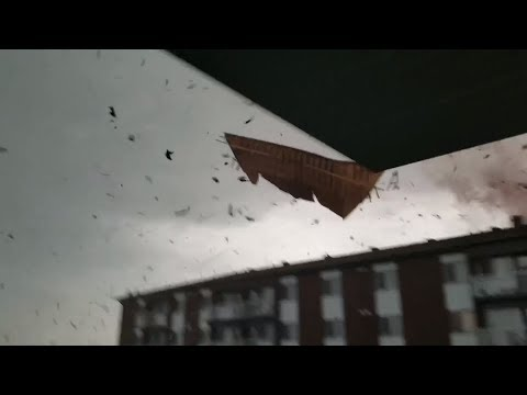 Cellphone video of Ottawa-Gatineau tornado