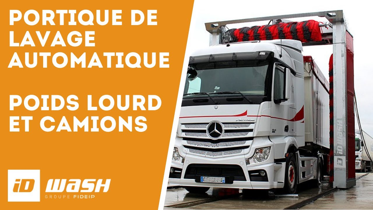 portique de lavage poids lourds id wash transports bremond youtube. Black Bedroom Furniture Sets. Home Design Ideas