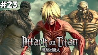 Tiga Titan Sekaligus - Attack On Titan - Indonesia 23