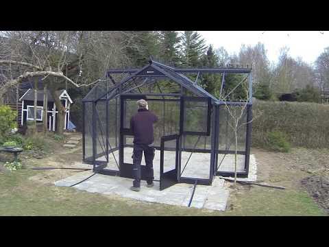 Juliana Orangery Greenhouse Time Lapse Assembly