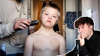 Ich schneide Tino die Haare! *help*