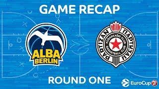 Highlights: Alba Berlin - Partizan Nis Belgrade