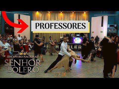 SENHOR BOLERO 2019 -  Apresentação dos Professores