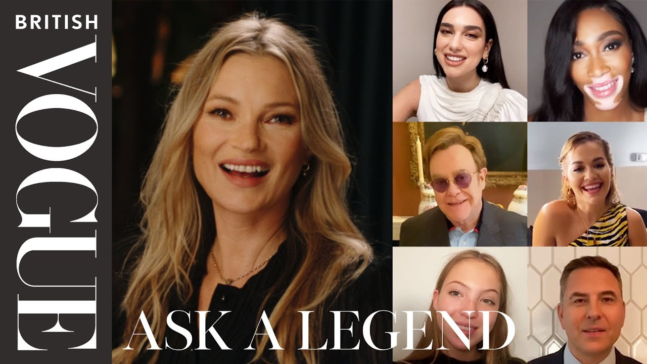 Kate Moss Answers 28 Questions From Her Famous Friends And Family | British Vogue