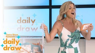 Daily Draw $500 Winner with Trish Suhr | July 18th, 2018 | Game Show Network