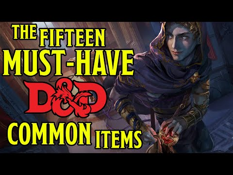 Best Mundane Common Items In Dungeons And Dragons 5e
