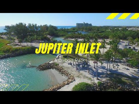 Jupiter Inlet & Dubois Park (Florida) - Drone Flyover