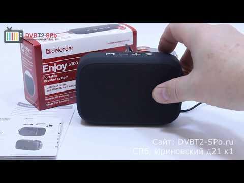 Портативная Bluetooth колонка Defender Enjoy S300