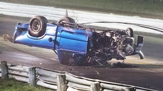 Drag Race gone WRONG - Rollover WRECK!