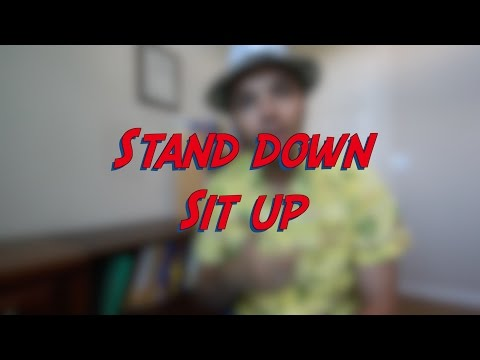 Sit up - Stand down - W9D1 - Daily Phrasal Verbs - Learn English online free video lessons