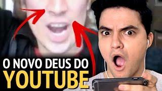 descobri o novo deus do youtube inacreditvel