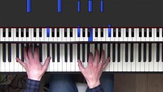 Chicago -  You're the inspiration -  Piano tutorial with original vocals