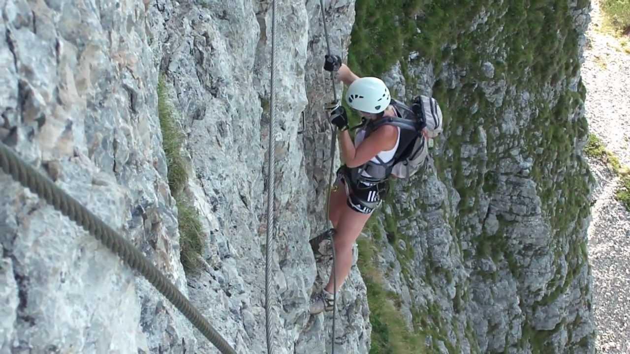 Klettersteig Loser : Klettersteig loser sisi youtube