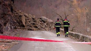 На Грузию обрушились оползни стихийные бедствия в Аджарии и Мцхета Мтианети видео
