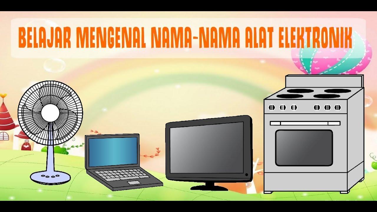 Mewarnai Gambar Alat Elektronik