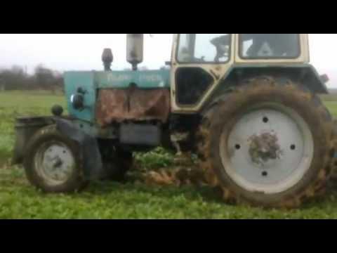 Мини трактор МТЗ 132 Меняем экскаватор на форвардер