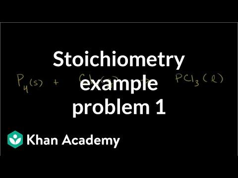 Stoichiometry Example Problem 1 | Chemistry | Khan Academy