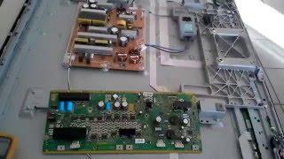 PANASONIC TC-P55ST30 7 blinks error troubleshooting SC TNPA5351 SU TNPA5349 SD TNPA5341- part 2/3