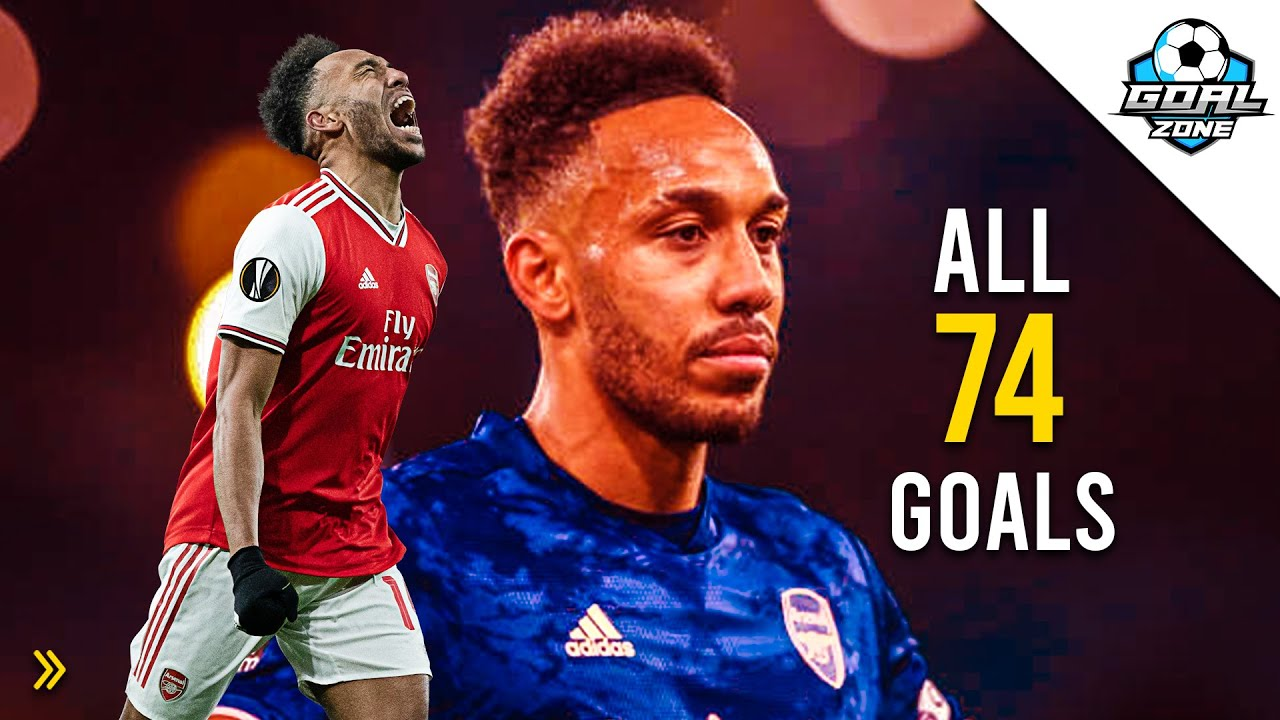 Download Pierre-Emerick Aubameyang - All 74 Goals for Arsenal