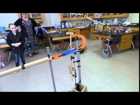 Technion Rube Goldberg Machine Challenge Bornblum Jewish Community School Finalist