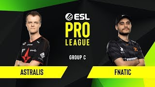 CS:GO - Astralis vs. Fnatic [Inferno] Map 1 - Group C - ESL EU Pro League Season 10