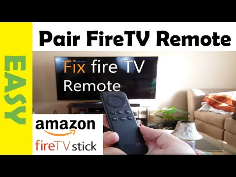 How to Fix Amazon Fire TV Stick Remote That's Not Working  Pair Fire Remote