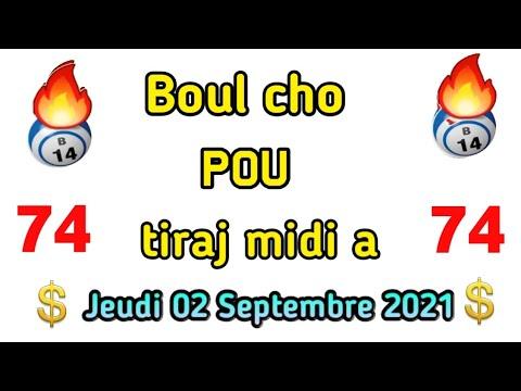 Download 6 boul cho pou peze fò jodia: 02 Septembre 2021 NY et Fl💸🔥lotto4+maryaj+lotto3
