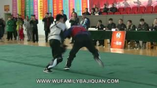 International Baji Quan Festival 2016 : demo fight 2 (Beijing Baji school)