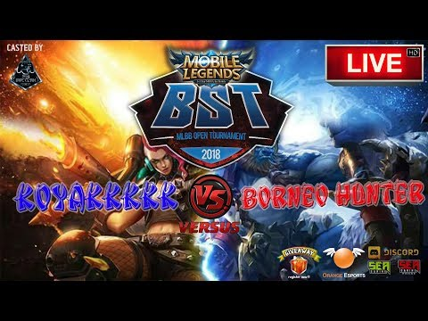 KOYAKKKKK VS BORNEO HUNTER [BST ML EVENT] 🔘 LIVE | Malaysia