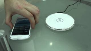 Zalman Zalbar Dash Cam, Qi Wireless Phone Charger - Computex 2013