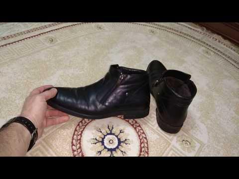 Спустя год, дагестанская обувь мужские зимние ботинки