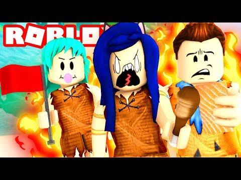 THE CRAZY TRIBE WAR!!   Roblox Booga Booga