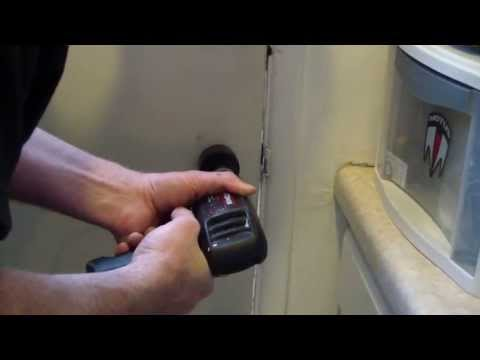 How To Drill A Doorknob Hole