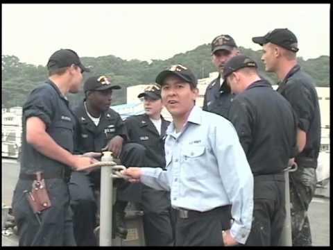 EN2 Perez - Yokosuka Report segment Sept.23, 2005