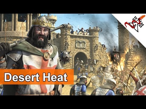 Stronghold Crusader 2 - Mission 6 | The Ridge | Desert Heat | Skirmish Trail